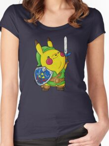 PikaLink Women's Fitted Scoop T-Shirt