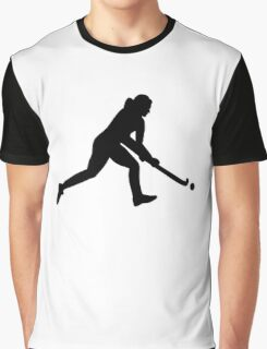 Field hockey girl Graphic T-Shirt