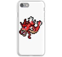 Pokemon 8-Bit Pixel Red Gyarados 130 iPhone Case/Skin