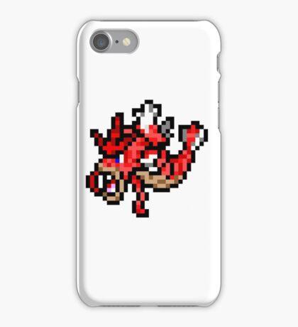 Pokemon 8-Bit Pixel Red Gyarados 130 iPhone Case/Skin
