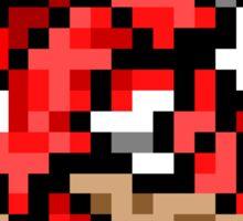 Pokemon 8-Bit Pixel Red Gyarados 130 Sticker