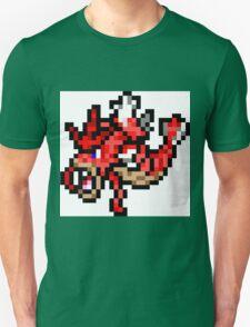 Pokemon 8-Bit Pixel Red Gyarados 130 Unisex T-Shirt