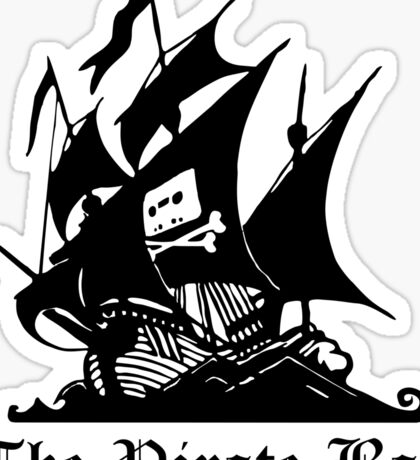 The Pirate Bay Sticker