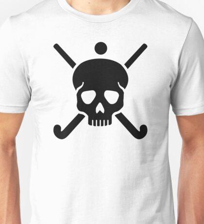 Field hockey skull Unisex T-Shirt
