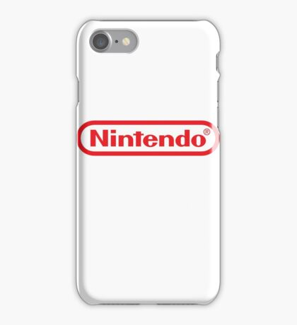 Nintendo Logo iPhone Case/Skin