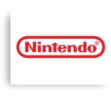 Nintendo Logo Canvas Print