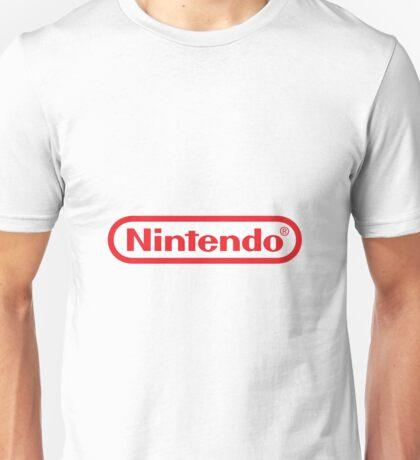 Nintendo Logo Unisex T-Shirt
