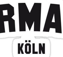 GERMANY KÖLN Sticker