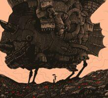 Howl's Moving Castle Original Poster Sticker