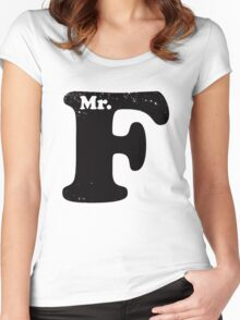 Mr. F Women's Fitted Scoop T-Shirt