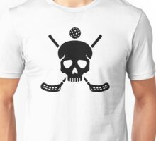 Floorball skull Unisex T-Shirt