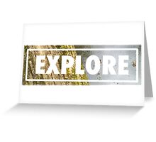 explore Greeting Card