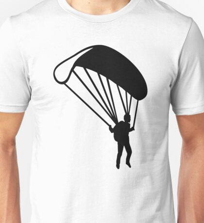 Parachute jumping Unisex T-Shirt