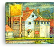 A House that is not a Home Canvas Print