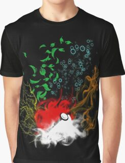 Elemental pokèball Graphic T-Shirt