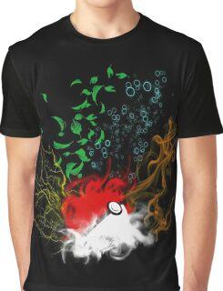 Elemental pokèball Graphic T-Shirt