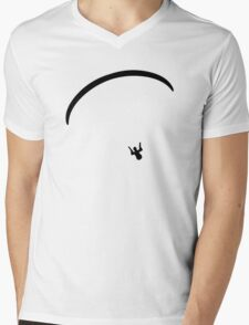 Paragliding Mens V-Neck T-Shirt