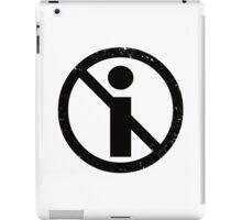 No Info iPad Case/Skin