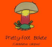 Pretty-Foot Bolete Kids Tee