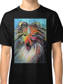 Boho Sheltie Classic T-Shirt
