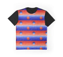 Abstract Orange And Blue Study In Values Painting Graphic T-Shirt