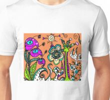 A Blustery Day in Mo's Garden Unisex T-Shirt