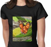 Iris Foetidissima Berries Womens Fitted T-Shirt