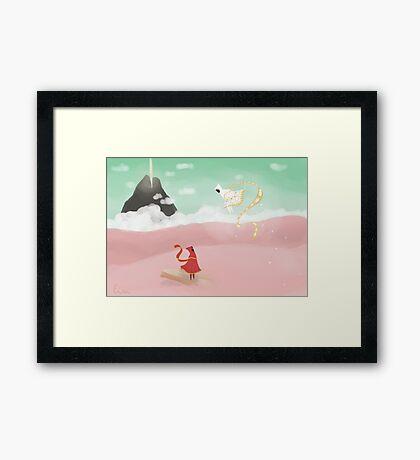 Journey ps3 Framed Print