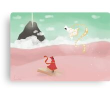Journey ps3 Canvas Print