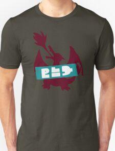 Splatoon Splatfest - Team Pokémon Red (Charizard) T-Shirt