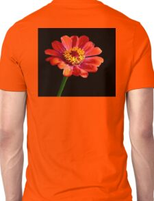 A Single Red Cosmos Unisex T-Shirt