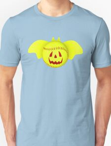Novelty Halloween Softball Bat Mashup T-Shirt
