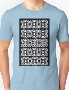 Black and White Abstract Pattern Unisex T-Shirt
