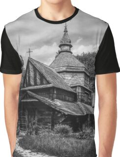 Fear Old Wooden Church in Ukraine Graphic T-Shirt