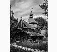 Fear Old Wooden Church in Ukraine Unisex T-Shirt