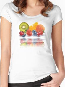 Fresh fruit Women's Fitted Scoop T-Shirt