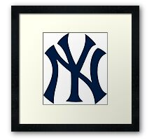 Yankees Logo Framed Print