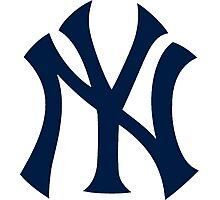 Yankees Logo Photographic Print