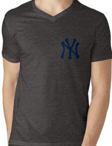 Yankees Logo Mens V-Neck T-Shirt