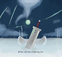 Cloud Strife - Dissidia  by Evabosma