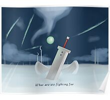 Cloud Strife - Dissidia  Poster