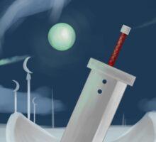Cloud Strife - Dissidia  Sticker