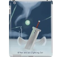Cloud Strife - Dissidia  iPad Case/Skin