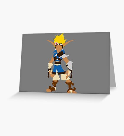 Jak-Jak and Daxter The precursor legacy  Greeting Card