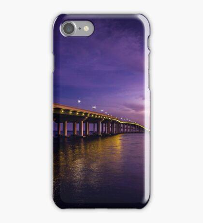 Biloxi Bay Bridge iPhone Case/Skin