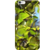 Tiles of Leaf and Sky iPhone Case/Skin