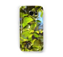 Tiles of Leaf and Sky Samsung Galaxy Case/Skin