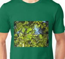 Tiles of Leaf and Sky Unisex T-Shirt
