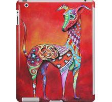 Boho Italian Greyhound iPad Case/Skin