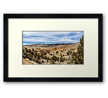 Oregon Outback Framed Print